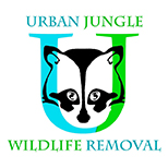 Urban Jungle Wildlife Removal Logo.